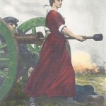 """Molly Pitcher"" Hero of the Revolution, from a painting by C.Y. Turner"
