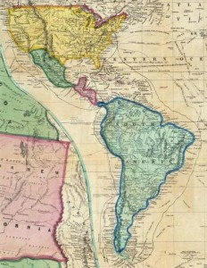 Gold Rush and Cape Horn map