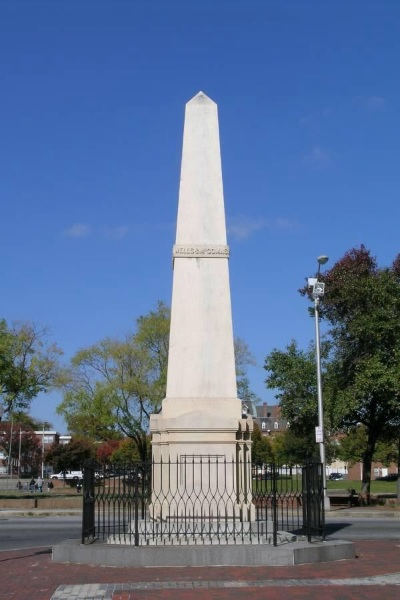 Wells and McComas Monument, Baltimore